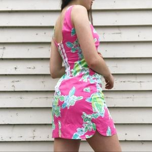 Lilly Pulitzer Hotty Pink Shift Dress NWOT
